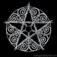 Pentacle Mandala by Hrefngast