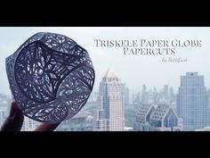 Hattifant - Triskele Paper Globe Cuts continued... - YouTube