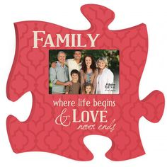 Puzzle Photo Frame | P. Graham Dunn