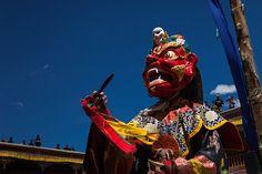 Mask, Hemis Tsechu festival