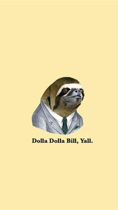 Sloth background
