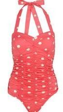 ShopStyle: Sunspot Ruched Swimsuit