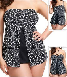 Elomi Essentials Bandeau Dress Size Tankini Top 7004 New Elomi Swimwear