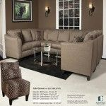Chelsea Home Furniture - Advantage Stoked Oatmeal 9 Piece Sectional - 8546-SEC-9-SO  SPECIAL PRICE: $3,359.99