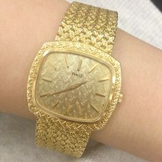 Amazing vintage #watch entirely crafted in #gold