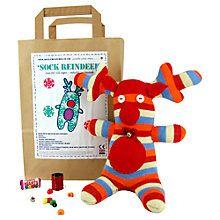 Buy Sock Creatures Reindeer Kit Online at johnlewis.com