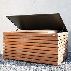 FORTE Modern Garden Furniture Cushion Box | Modern German Furniture