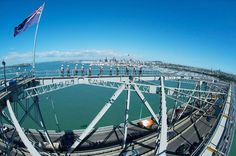Book your adventure - Climb to the top of Auckland Harbour Bridge with a professional guide for the ultimate Auckland experience. A safe and easy walk on specially engineered catwalks takes you from the base to the summit of the bridge, with amazing views all along the way. See Waitemata Harbour, Sky Tower, and other landmarks as your expert guide shares informative commentary about Auckland. Begin by either