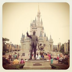 This is where the magic happens for people of all ages. I have always loved Disney, and I always will.
