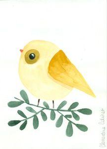 Image of Illustration Oiseau #4