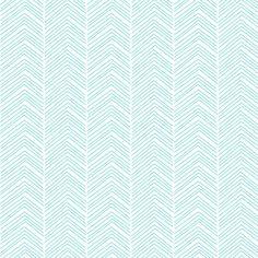 chevron ♥ light teal fabric by misstiina on Spoonflower - custom fabric