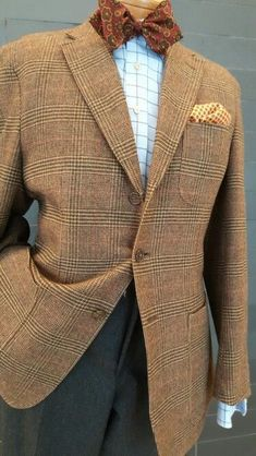 Older Mens Fashion, Mens Fashion Suits, Mens Suits, Dressed To The Nines, Well Dressed, Mens Dress Hats, Style Costume Homme, Mode Costume, Country Attire
