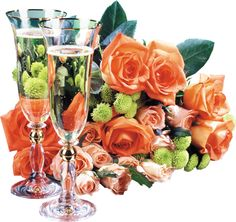 Just for You. Orange Rose Bouquet, Orange Roses, Wine Glass Images, Meeting New People, Beautiful Roses, Happy Mothers Day, Event Planning, Just For You, Table Decorations