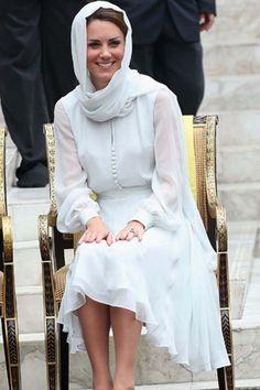Kate Middleton wears Beulah London, Kuala Lumpur, 14 September 2012