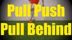 Pull Push Pull Behind - Static Ball Control Drills - Soccer (Football) Coerver Training for U10-U11
