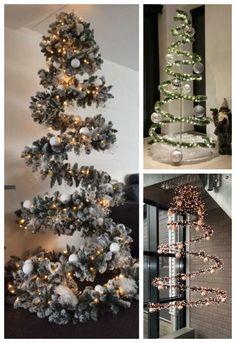 Silver Christmas Decorations, Christmas Arts And Crafts, Diy Christmas Tree, Christmas Lights, Holiday Decor, Wooden Crates Christmas, Alternative Christmas Tree, Wreath Crafts, Holidays And Events