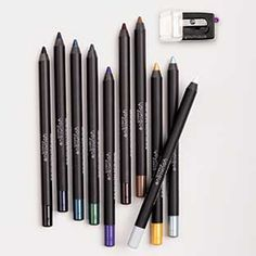 These precision pencils are really smooth & long lasting!  Moodstruck Precision Pencils - Set of 10