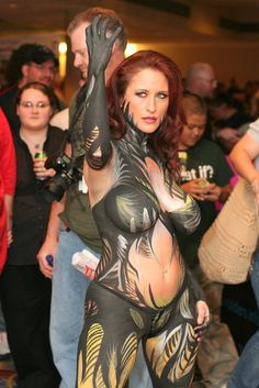 Body Paint Witchblade