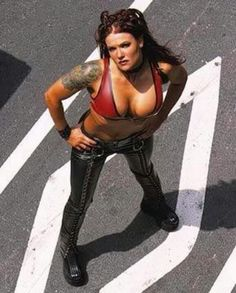 old school Lita WWF days