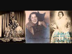 "The great German soprano Lotte Lehmann (here as the Marschallin) in ""Hab mir's gelobt"" (Trio) from Act 3 of Richard Strauss' Der Rosenkavalier. Richard Strauss, German, Tapestry, Youtube, Deutsch, Hanging Tapestry, Tapestries, German Language, Needlepoint"