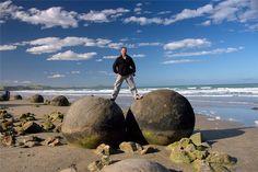 Stone balls of Champ Island, Russia