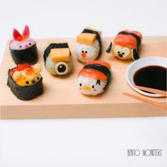 Creative Mom Makes Adorable Sushi Art Featuring Disney Characters, Cartoons - DesignTAXI.com