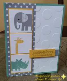 Pals Paper Crafting Card Ideas Zoo Babies Mary Fish Stampin Pretty StampinUp