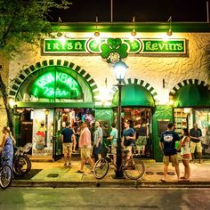 Irish Kevin's on Duval...