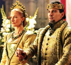 THE TUDORS HENRY & HIS SIXTH WIFE CATHERINE PARR - IRONICALLY SHE WAS NAMED AFTER KATHERINE OF ARAGON