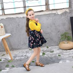 Brand Name: NoneStyle: CasualItem Type: SetsMaterial: COTTONFit: Fits true to size, take your normal sizeDepartment Name: Children Denim Fashion, Girl Fashion, Stitching Dresses, Yellow Online, Girl Sleeves, Ethnic Outfits, Floral Jumpsuit, Short Girls, Women Swimsuits