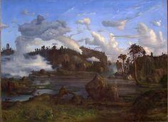 Lars Hertervig, «Skogtjern»