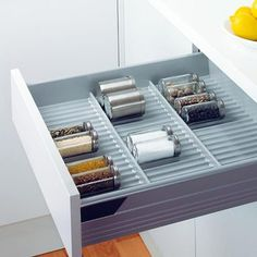 Spice Rack - Browse our online store for the latest in Kitchen Accessories, we offer freestanding & built in kitchen bins & a full range of Kitchen storage solutions