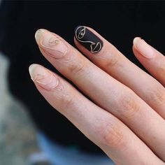 "Nail trends come and go, but I have a feeling this one will be here to stay for a while. Because when you see what ""the cool kids"" are wearing nowadays, you're going to want to join in. Wire nails are the latest manicure trend, and let me just say th"