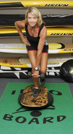 SUP exercises for leg strength and endurance