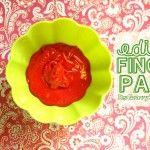 Edible Finger Paint Recipe – Preschool Craft & Activity