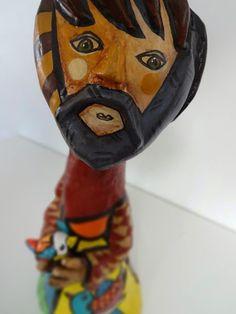 Escultura São Francisco Pop