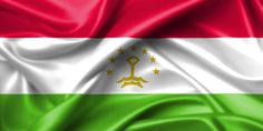 wavy flag of tajikistan