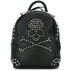 Blue Banana Spikes Backpack (Orange/Black) (23 CAD) ❤ liked on ...