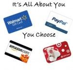It's All About You $50 Giveaway    We could all use a little extra spending money...or money to get started on Holiday Shopping. Well, me and 9 other bloggers have joined forces to help you get a head start. There is $50 up for grabs. The winner will get to choose from Target,...