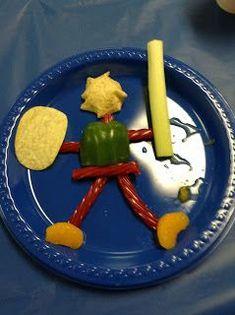 armor of god vbs snacks | Armor of God food ideas- this is so cute!