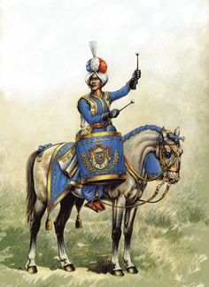 FRANCE - Kettle Drummer of Dragoons of Imperial Guard