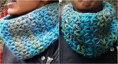 This stitch is also known as a star stitch, among other names.