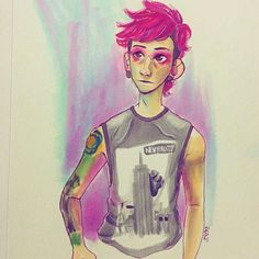 Josh Dun drawing ~k