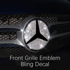 Mercedes Benz New E-Class AMG Bling 3d Rhinestones Interior Acessories – Carsoda