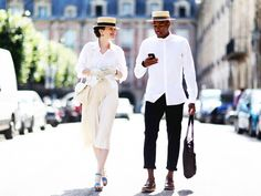 A complete list of events and shows for Paris Men's Fashion Week. Paris Men's Fashion Week will take place June Couple Outfits, Outfits With Hats, Stylish Outfits, Fashion Week Hommes, Mens Fashion Week, Men's Fashion, Fashion Brands, Fashion Styles, Fashion Online