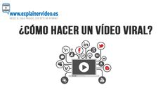 #VideosVirales  #VideoViral  ¿Cómo hacer un vídeo viral? Videos, Blog, How To Make, Board, Blogging