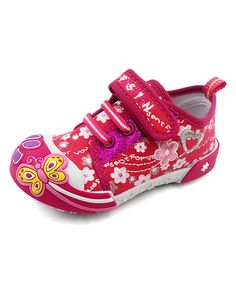Take a look at this Chulis Footwear Fuchsia Alice Sneaker today!