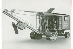 The advent of the Skimmer #HCEA #historical #construction #equipment #mining