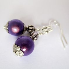 VIOLET...Tibetan Style 3D Illusion Earrings (£4.00)  To order, message me on Facebook (click 'Message' at the top of the Genuine Red Facebook Page) or e-mail thegenuinered@gmail.com