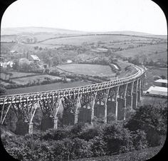 COLLEGE WOOD VIADUCT | Penryn, Cornwall Cornwall England, Falmouth, Medieval Castle, Great Britain, Bridges, Old Photos, Trains, Aircraft, Old Things